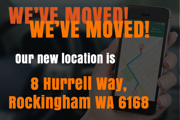 We've moved to 8 Hurrell Way, Rockingham WA 6168