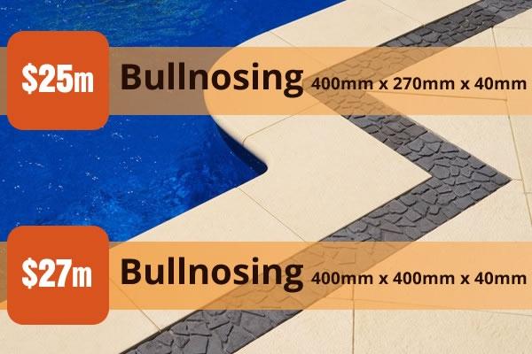 Bullnosing Pavers